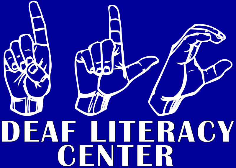 Deaf Literacy Center logo