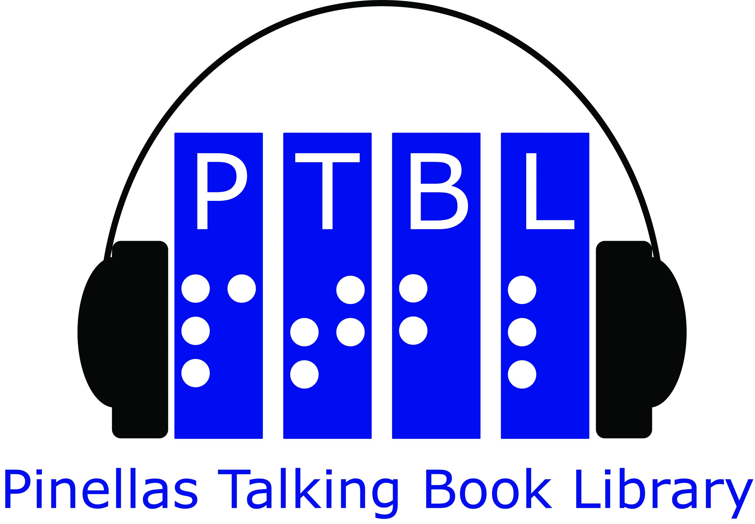 Logo for talking book library